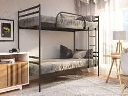 Двухъярусная металлическая кровать КОМФОРТ ДУО 200х90 1