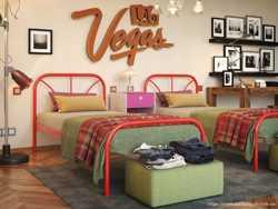 Кровать металлическая Релакс 200х90 1