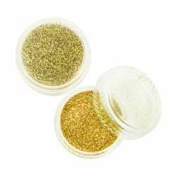Глиттер золото.частицы 1128 дюйма