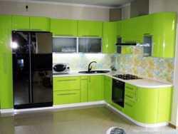 Изготовим кухню в Луганске с крашеными фасадами 2