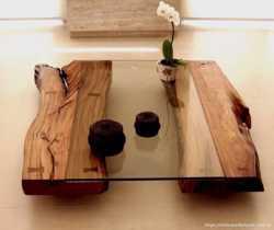 Дизайнерские столы из дерева 3