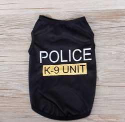 Майка Police (розовая, чёрные) S,M,M