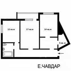 Аренда офиса офиса 70 кв.м., метро Осокорки. 3