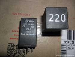 VAG 443955532, Реле №220, WV-Audi 443 955 532, оригинал