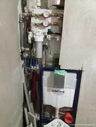 Сантехработы ( водопровод, отопление, канализация), теплые полы.