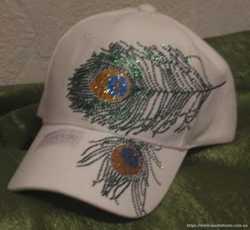 Стильные кепки со стразами от Сваровски! Ловите на себе взгляды восхищения круглый год! 1