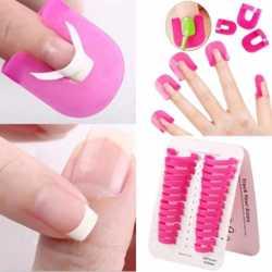 Формы-клипсы для ногтей