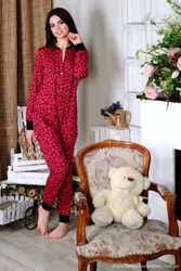 Теплая пижамка с кармашком на попе! Отличный подарок для девушки!