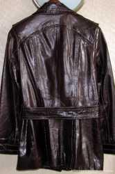 Замечательная кожаная лаковая куртка, M/L 3