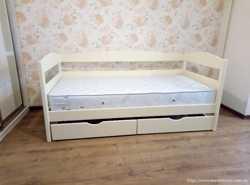 Нота Плюс - односпальная детская кровать. Бонусы к заказу.  1