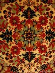 Ковёр 170 250 советский натуральный, низкий ворс, красный, синий, торг