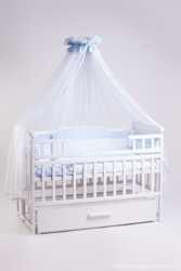 Лучший набор для сна! Весь комплект с кроваткой маятник + постельный набор 8 эл + матрас кокос 1