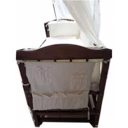 Сенсация! Кроватка маятник +постельное 8 элементов+ матрас кокос. New 2