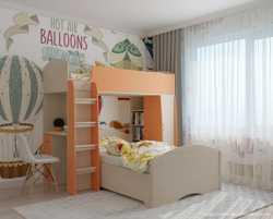 Двоярусне дитяче ліжко Оксфорд