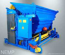 Передвижной вибропресс УПБ-ПБ для производства перемычек брусковых