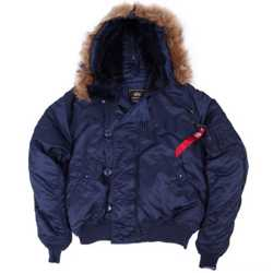 Куртки Аляска короткие Alpha Industries N-2B Parka (США) 1