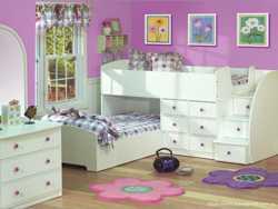 Двоярусне дитяче ліжко Теннесі
