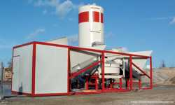 Мобильный бетонный завод Sumab K-60 (60 м3/ч) Швеция 3