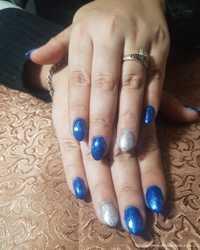 Наращивание ногтей и покрытие гель-лак