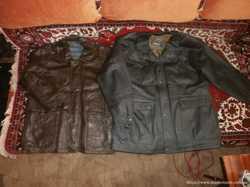 Куртка демисезонная мужская, натур кожа 2