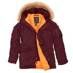 """Супер теплые стильные зимние куртки - легендарная модель N-3B """"Аляска"""" от Alpha Industries Inc. USA 3"""