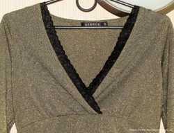 Замечательная блузка George, золото, S/P, новая 2
