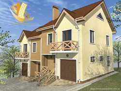 2 этажный дом с подвалом Ивана Богуна улица, район Пятничаны