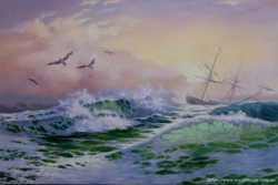 Продам картину - Морской пейзаж. Холст, масло, 40х60