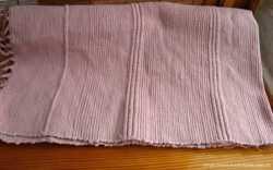 коврик хлопковый, плотное плетение с бахромой розовый 100 на 58. торг