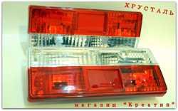 Задние фонари Ваз 2107 Хрусталь Красные и тонированные