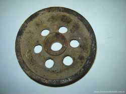 Шкив для блока под трос или веревку чугунный, литье 2