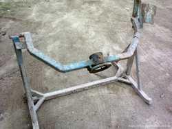 Продам раму редукторной бетономешалки БС - 350, БС - 450. 3