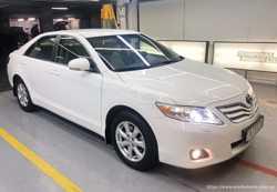 155 Toyota Camry белая V40 прокат авто  3