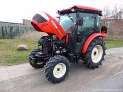 Экспортный б/у трактор 2007 года выпуска Branson 5025 CX 47 л/с + плуг 2