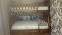 Трехспальная кровать Жасмин 3