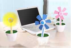 Гаджет Вентилятор usb в Украине, вентилятор Цветочек работает от USB