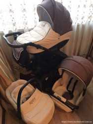 Продам б/у коляску Tutis Zippy 3 в 1 в очень хорошем состоянии