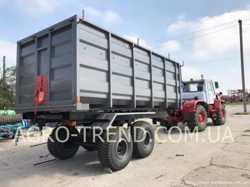 прицеп тракторный самосвальный птс-12 (зерновоз), птс-16