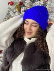 Шапка женская теплая зимняя новая 2