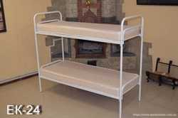 Кровати металлические двухъярусные 3