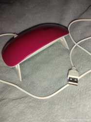 Лампа для сушки гель лака ультрафиолет UF SUN mini