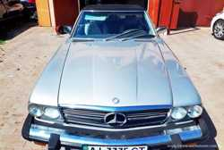 171 Ретро автомобиль Mercedes SL 107 1985 год 1
