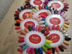 Палітри-ромашки кольорових гель лаків - Boho, Kodi, Fox