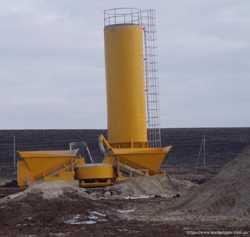 Мобильный бетонный завод Sumab LT 1200 (40 м3/час) Швеция 3